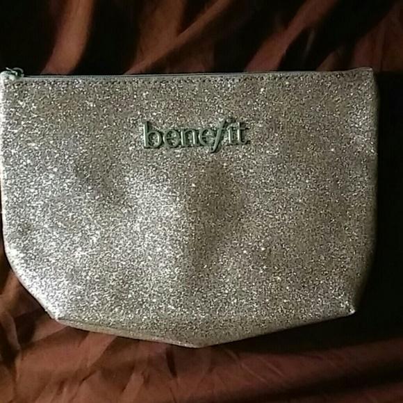 Benefit Handbags - Beefit zippered cosmetics bag